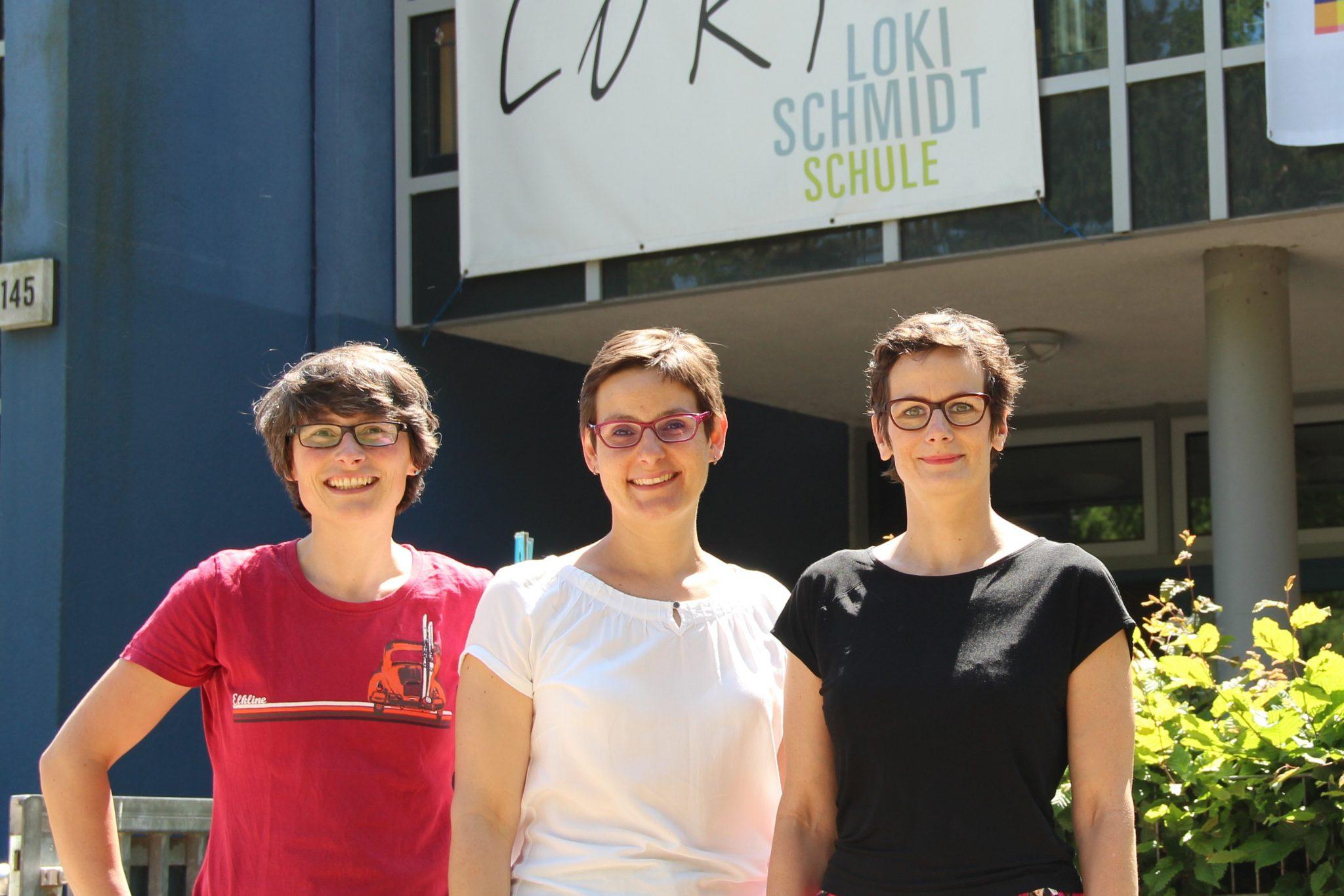 Vorstandsmitglieder des Schulvereins der Loki-Schmidt-Schule